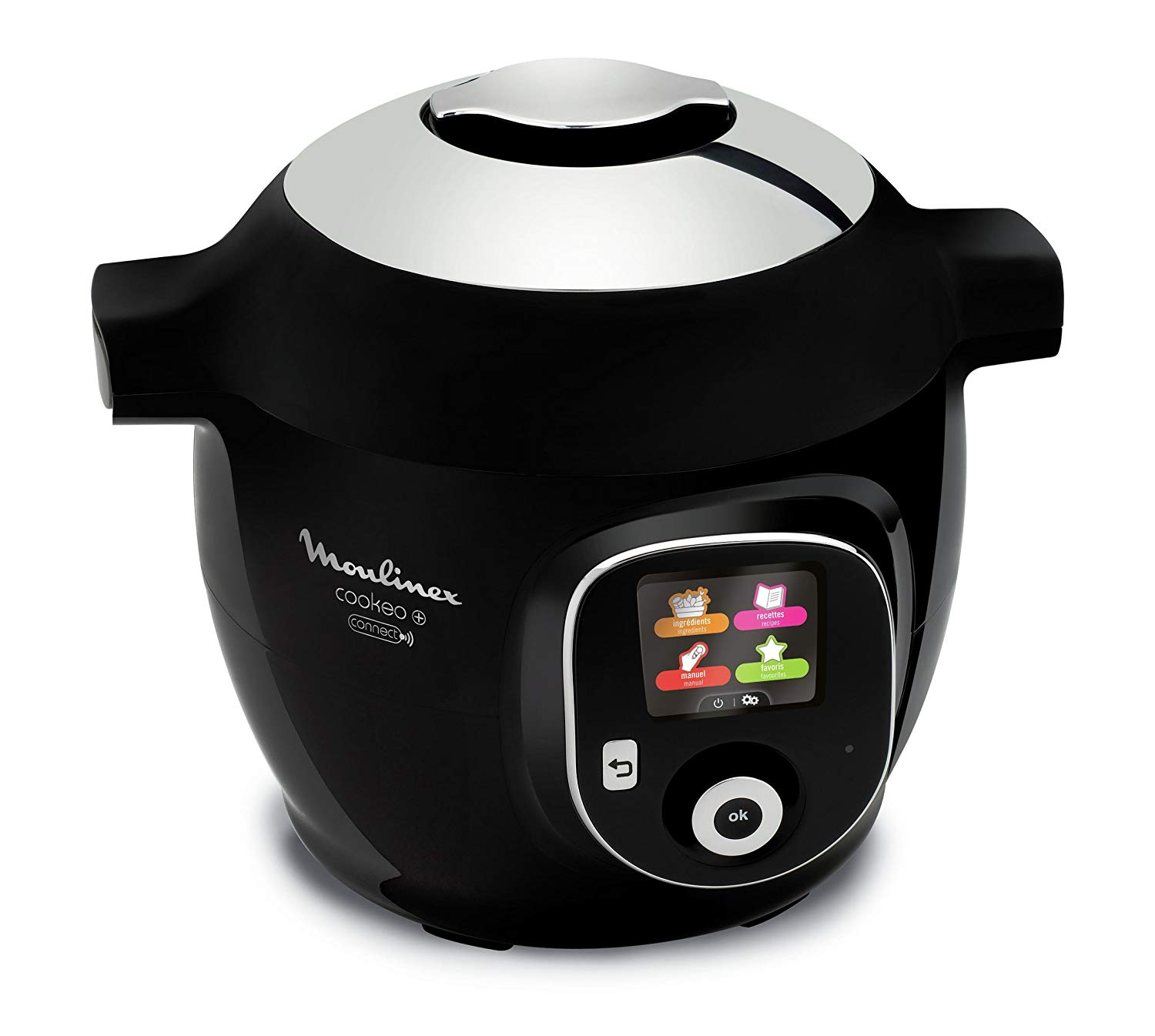 Robot Multicuiseur Intelligent - Moulinex Cookeo YY2942FB Bluetooth